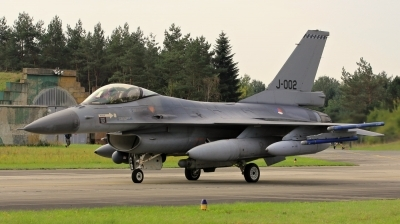 Photo ID 200814 by Milos Ruza. Netherlands Air Force General Dynamics F 16AM Fighting Falcon, J 002