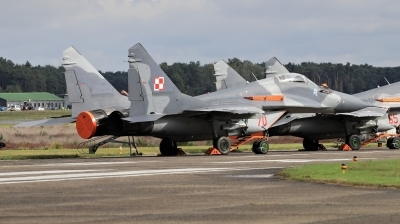 Photo ID 200906 by Milos Ruza. Poland Air Force Mikoyan Gurevich MiG 29A 9 12A, 70
