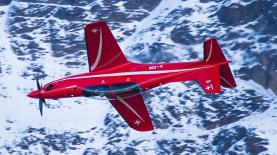 Photo ID 200983 by Agata Maria Weksej. Switzerland Air Force Pilatus PC 21, A 106