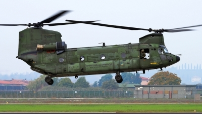 Photo ID 201057 by Varani Ennio. Netherlands Air Force Boeing Vertol CH 47D Chinook, D 106