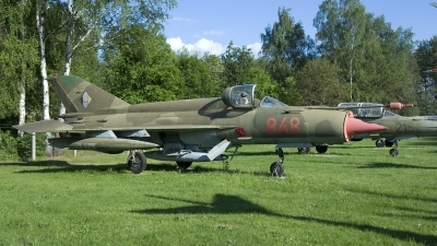 Photo ID 201083 by Joop de Groot. East Germany Air Force Mikoyan Gurevich MiG 21bis, 848