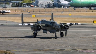 Photo ID 201119 by Aaron C. Rhodes. Private Historic Flight Foundation North American B 25D Mitchell, N88972