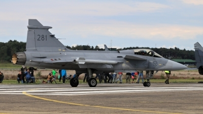Photo ID 201104 by Milos Ruza. Sweden Air Force Saab JAS 39C Gripen, 39281