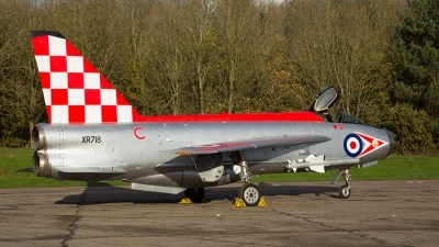 Photo ID 201126 by Tom Gibbons. Private Lightning Preservation Group English Electric Lightning F3, XR718