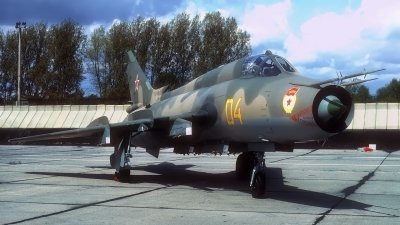 Photo ID 201249 by Rainer Mueller. Russia Air Force Sukhoi Su 17M4 Fitter K,
