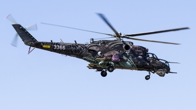 Photo ID 201321 by Jorge Guerra. Czech Republic Air Force Mil Mi 24V, 3366