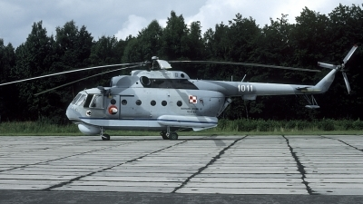 Photo ID 201335 by Marinus Dirk Tabak. Poland Navy Mil Mi 14PL, 1011