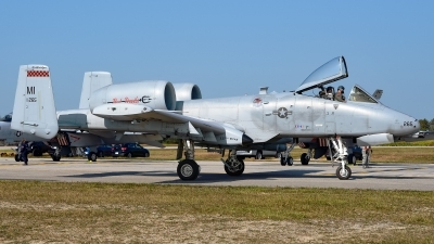 Photo ID 201365 by Rod Dermo. USA Air Force Fairchild A 10C Thunderbolt II, 80 0265