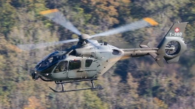 Photo ID 201498 by Andreas Zeitler - Flying-Wings. Switzerland Air Force Eurocopter TH05 EC 635P2, T 360