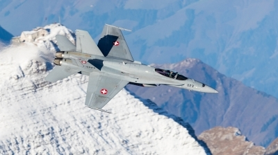 Photo ID 201400 by Andreas Zeitler - Flying-Wings. Switzerland Air Force McDonnell Douglas F A 18C Hornet, J 5023