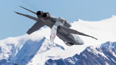Photo ID 201419 by Andreas Zeitler - Flying-Wings. Switzerland Air Force McDonnell Douglas F A 18C Hornet, J 5009