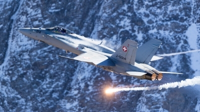 Photo ID 201416 by Andreas Zeitler - Flying-Wings. Switzerland Air Force McDonnell Douglas F A 18C Hornet, J 5014