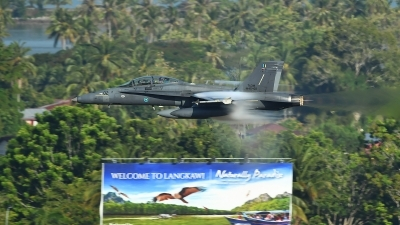 Photo ID 201434 by Diamond MD Dai. Malaysia Air Force McDonnell Douglas F A 18D Hornet, M45 02