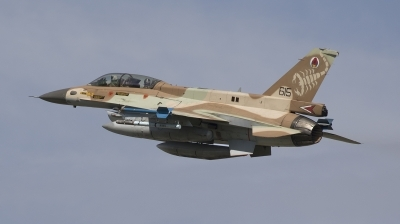 Photo ID 201826 by Paul van den Hurk. Israel Air Force General Dynamics F 16D Fighting Falcon, 615