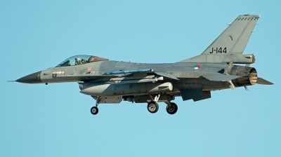 Photo ID 202055 by Alex Jossi. Netherlands Air Force General Dynamics F 16AM Fighting Falcon, J 144