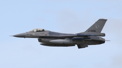 Photo ID 202080 by Milos Ruza. Netherlands Air Force General Dynamics F 16AM Fighting Falcon, J 006