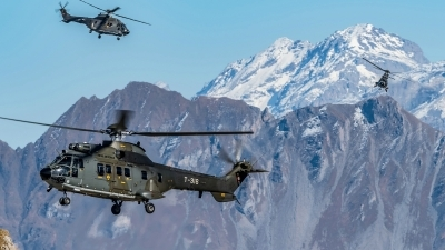 Photo ID 202092 by Martin Thoeni - Powerplanes. Switzerland Air Force Aerospatiale AS 332M1 Super Puma, T 316