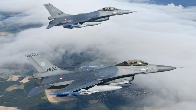 Photo ID 202101 by Lieuwe Hofstra. Netherlands Air Force General Dynamics F 16AM Fighting Falcon, J 624
