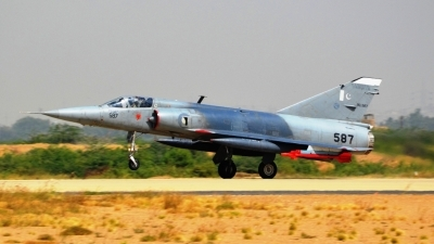 Photo ID 202110 by Fahad Arshad Siddiqui. Pakistan Air Force Dassault Mirage IIIO ROSE I, 587