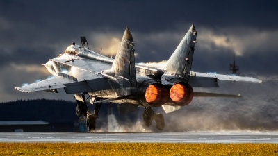 Photo ID 202161 by Kirill Mushak. Russia Air Force Mikoyan Gurevich MiG 31BM, RF 90893