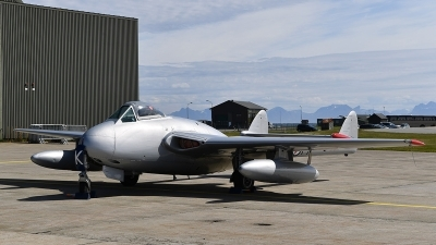 Photo ID 202198 by Lieuwe Hofstra. Private Warbirds of Norway De Havilland DH 100 Vampire FB 6, LN DHY