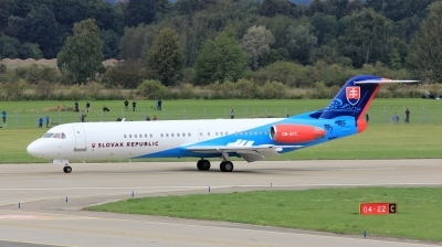 Photo ID 202267 by Milos Ruza. Slovakia Government Fokker 100 F 28 0100, OM BYC