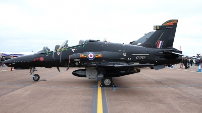 Photo ID 202291 by Fernando Sousa. UK Air Force BAE Systems Hawk T 2, ZK027