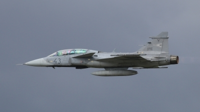 Photo ID 202360 by Milos Ruza. Hungary Air Force Saab JAS 39 EBS HU D Gripen, 43