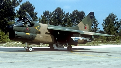 Photo ID 202359 by Carl Brent. Portugal Air Force LTV Aerospace A 7P Corsair II, 5527
