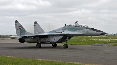 Photo ID 202396 by huelsmann heinz. Slovakia Air Force Mikoyan Gurevich MiG 29UBS 9 51, 5304