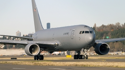 Photo ID 202434 by Aaron C. Rhodes. USA Air Force Boeing KC 46A Pegasus 767 200LRF, N463FT
