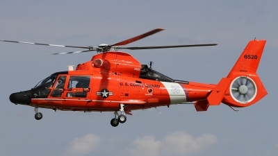 Photo ID 202443 by Paul Newbold. USA Coast Guard Aerospatiale MH 65D Dolphin SA 366G 1, 6520