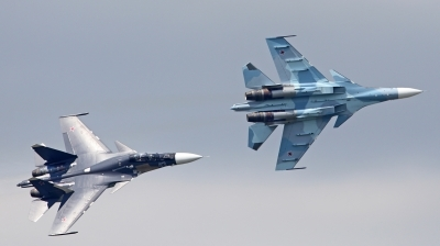 Photo ID 213537 by walter. Russia Navy Sukhoi Su 30SM Flanker, 43 BLUE