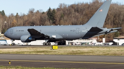 Photo ID 202491 by Aaron C. Rhodes. USA Air Force Boeing KC 46A Pegasus 767 200LRF, N463FT