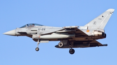 Photo ID 202624 by Manuel LLama-Costa Del Sol Spotting Aviation. Spain Air Force Eurofighter C 16 Typhoon EF 2000S, C 16 25