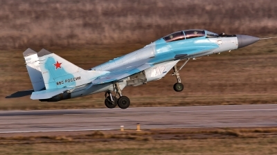 Photo ID 202658 by Sergey. Company Owned RSK MiG Mikoyan Gurevich MiG 35, 712