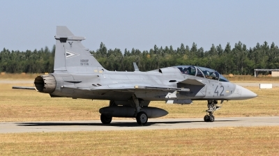 Photo ID 202670 by Milos Ruza. Hungary Air Force Saab JAS 39 EBS HU D Gripen, 42
