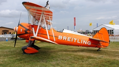 Photo ID 202708 by Fernando Sousa. Private Breitling Wing Walkers Boeing PT 17 Kaydet A75N1, N5057V