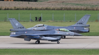 Photo ID 202771 by Milos Ruza. Netherlands Air Force General Dynamics F 16AM Fighting Falcon, J 624