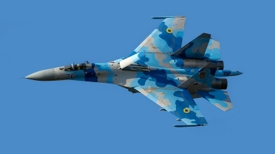 Photo ID 202760 by Vladimir Vorobyov. Ukraine Air Force Sukhoi Su 27S, 26 BLUE