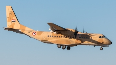 Photo ID 202986 by Santos. Egypt Air Force CASA C 295M, 1176