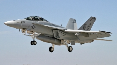 Photo ID 203177 by David F. Brown. USA Navy Boeing F A 18F Super Hornet, 166628