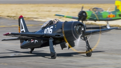 Photo ID 203094 by Aaron C. Rhodes. Private Heritage Flight Museum Grumman F8F 2 Bearcat, NX800H
