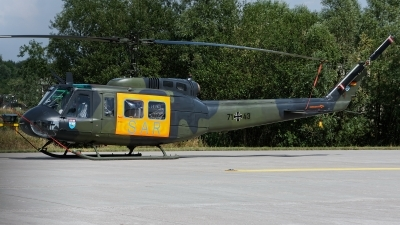 Photo ID 203123 by Rainer Mueller. Germany Air Force Bell UH 1D Iroquois 205, 71 43