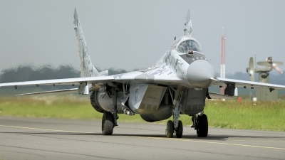 Photo ID 203185 by Robert Flinzner. Slovakia Air Force Mikoyan Gurevich MiG 29AS, 0619