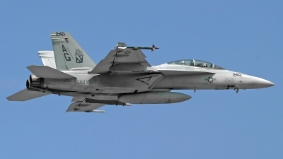 Photo ID 203238 by David F. Brown. USA Navy Boeing F A 18F Super Hornet, 166625