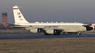 Photo ID 203248 by Chris Lofting. USA Air Force Boeing RC 135W Rivet Joint 717 158, 62 4134