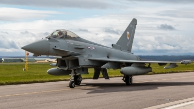 Photo ID 203431 by Mike Macdonald. UK Air Force Eurofighter Typhoon FGR4, ZK338