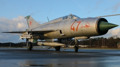 Photo ID 203367 by Rick van Engelen. Russia Air Force Mikoyan Gurevich MiG 21PFM, 47 RED