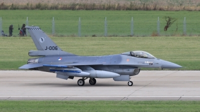 Photo ID 203381 by Milos Ruza. Netherlands Air Force General Dynamics F 16AM Fighting Falcon, J 006